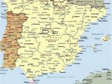 Detailed Map Of Spain with Cities Mapa Espaa A Fera Alog In 2019 Map Of Spain Map Spain Travel