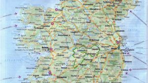 Detailed Maps Of Ireland Maps Of Ireland Detailed Map Of Ireland In English tourist Map