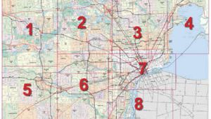 Detroit area Map Michigan Mdot Detroit Maps