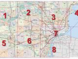 Detroit Michigan On A Map Mdot Detroit Maps