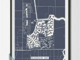 Discovery Bay California Map Discovery Bay California Street Map Print by Voca Prints Modern