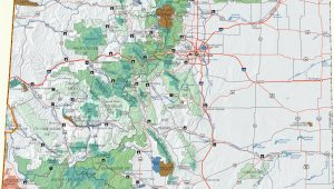Divide Colorado Map Colorado Dispersed Camping Information Map