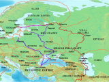Dniester River Map Europe Trade Route From the Varangians to the Greeks Wikipedia