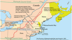 Dominion Of New England Map Province Of Massachusetts Bay Wikipedia