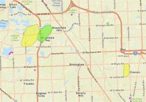 Dte Energy Power Outage Map on