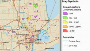 Dte Outage Map Michigan Consumers Energy Power Outage Map Beautiful Ed Power Outage Map