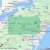 Dublin Ohio Zip Code Map Listing Of All Zip Codes In the State Of Pennsylvania
