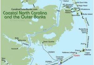 Duck North Carolina Map on