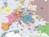 Early Medieval Europe Map A Historical Map Of Europe In the Year 1300 Ad Genealogy