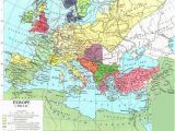 Early Medieval Europe Map Europe In the Middle Ages From 500 Ad 1500 Ad History Of