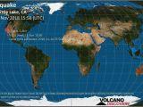 Earthquake Canada Map Earthquake Map Texas Map Of Recent Earthquakes In California