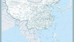 East China Michigan Map Map Of China Maps Of City and Province Travelchinaguide Com