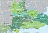 East Coast England Map Map Of south East England Visit south East England