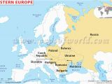 Easter Europe Map Map Of Russia and Eastern Europe