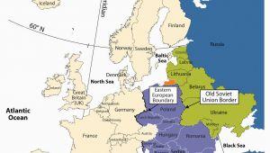 Eastern Europe Map 1980 Eastern Europe