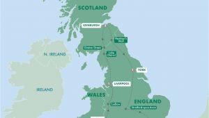 Edinburgh England Map Real Britain Trafalgar London In 2019 Scotland Travel
