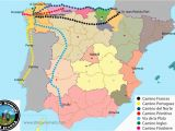 El Camino Spain Map the Camino De Santiago All You Need to Know Stingy Nomads