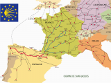 El Camino Spain Map the Many Routes Of the Camino De Santiago