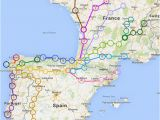 El Camino Spain Map Travel Tips Camino Cestovana A Pana Lsko A Evropa