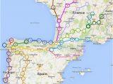 El Camino Trail Spain Map Travel Tips Camino Cestovana A Pana Lsko A Evropa