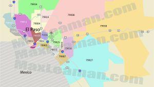 El Paso Texas Zip Codes Map El Paso Texas Zip Code Map Business Ideas 2013