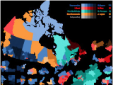 Elections Canada Map 2008 Canadian Federal Election Wikivisually
