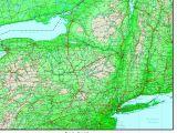 Elevation Map Of north Carolina New York Elevation Map