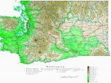 Elevation Map Of north Carolina Washington Contour Map