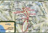 Emerald Lake Canada Map Kanada In Vier Etappen Durch Den Yoho National Park
