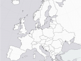Empty Map Of Europe 36 Intelligible Blank Map Of Europe and Mediterranean