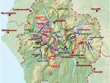 England Lake District Map List Of Hill Passes Of the Lake District Wikipedia