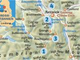 England Lake District Map Lovely Lakes Wandern Im Lake District Outdoor Magazin Com