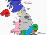 England Map with Regions A Map Of Gt Britain According to some Londoners Travel