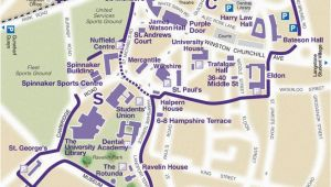 England University Map Find Your Way Around Our Campus the University Of