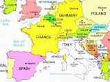 English Channel On Europe Map Blank Map Europe Climatejourney org