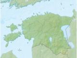 Estonia On Europe Map Tartu Wikipedia