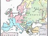Ethnic Map Of Europe 1914 Main Ethnic Groups In Europe 1899 Maps Geography