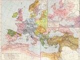 Ethnographic Map Of Europe A Map Of Europe In 1097 Ad the Time Of the First Crusade