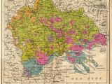 Ethnographic Map Of Europe Bulgarian Version Of Ethnographic Macedonia 1914 Maps