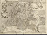 Europe 16th Century Map Historical Map Europe Stock Photos Historical Map Europe