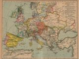 Europe 17th Century Map the Balkans Historical Maps Perry Castaa Eda Map Collection