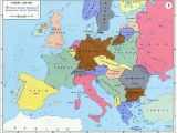 Europe after the First World War Map Pre World War Ii Here are the Boundaries as A Result Of