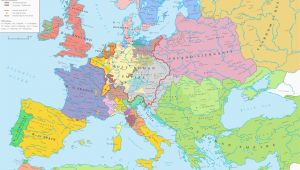Europe after the Peace Of Westphalia 1648 Map Europe Ad 1648 the Peace Of Westphalia European Maps