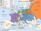 Europe after the Peace Of Westphalia 1648 Map Introduction to Nation States Western Civilization