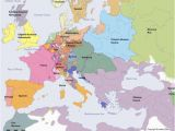 Europe after the Peace Of Westphalia 1648 Map sovereign States In Europe after Christ Hmm Historical