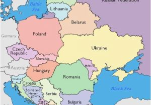 Europe and Russia Mapping Lab Maps Of Eastern European Countries