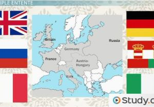 Europe and Russia Mapping Lab Triple Alliance and Triple Entente In Europe On the Eve Of