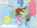 Europe before Ww2 Map 10 Explicit Map Europe 1918 after Ww1