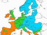Europe Climate Zones Map 4 European Climate Condition Zones Download Scientific Diagram
