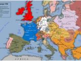 Europe In 1700 Map 18th Century Wikipedia